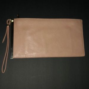 Handbags - Salmon Pink Wrislet Clutch Purse